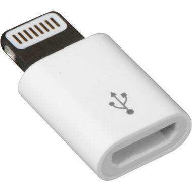 Micro USB naar Lightning adapter