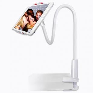 iPad houder met flexibele arm wit