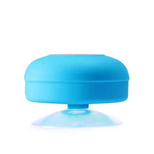 Bluetooth badkamer speaker met belfunctie blauw - iPadshop.nl
