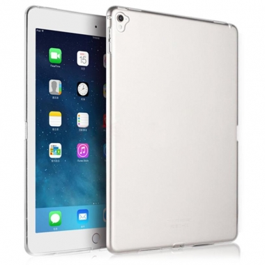 "iPad Pro 9,7"" siliconen backcover transparant"