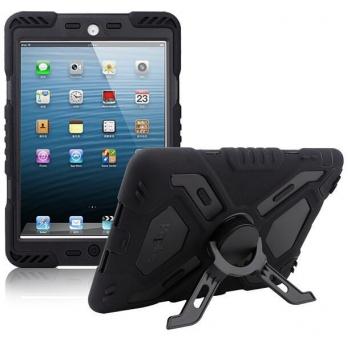 Pepkoo Spider Shockproof Case iPad Mini 1/2/3 zwart