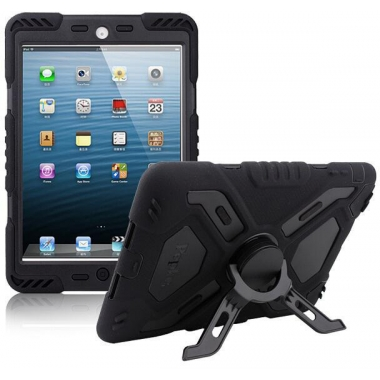 Pepkoo Spider Shockproof Case iPad Mini 1/2/3 zwart