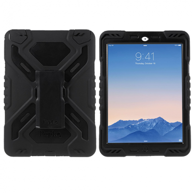 Pepkoo Spider Shockproof Case iPad Air 2 zwart