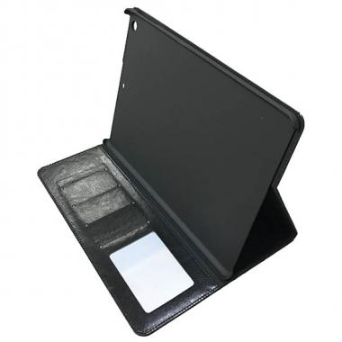 iPad Mini 1/2/3 book case met pasjesruimte - zwart