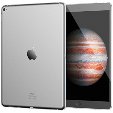 "iPad Pro 12,9"" (2015 / 2017) siliconen backcover transparant"