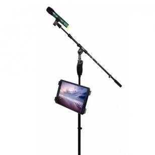iPad houder voor muziek- en microfoonstatief