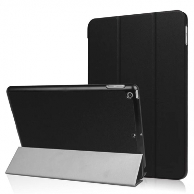 iPad (2017 / 2018) tri-fold folio case zwart