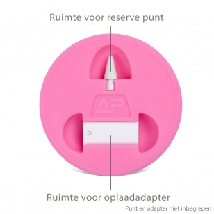 Houder voor Apple Pencil 1 en dop wit