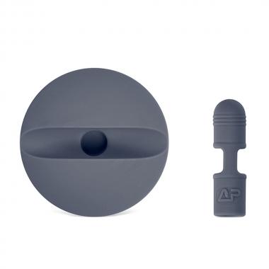 Houder voor Apple Pencil en dop grijs
