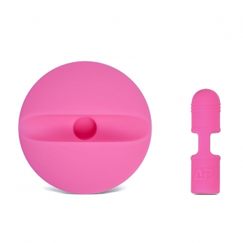 Houder voor Apple Pencil 1 en dop roze