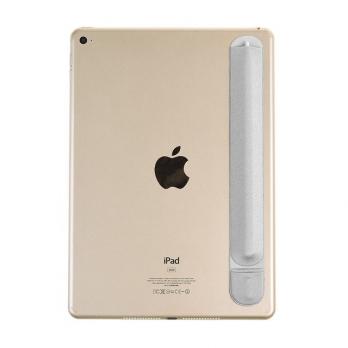 Zelfklevende sleeve voor Apple Pencil grijs