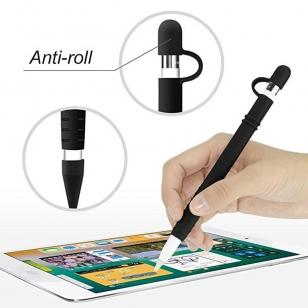 Siliconen huls met dophouder voor Apple Pencil 1