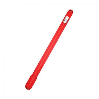 Anti slip siliconen huls met dophouder voor Apple Pencil 1