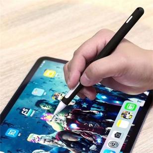 Siliconen huls voor Apple Pencil 2 zwart