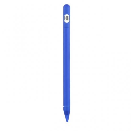 Siliconen huls + extra's voor Apple Pencil 1 blauw