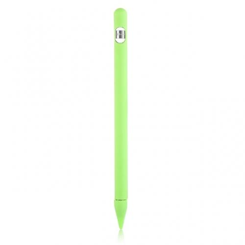 Siliconen huls + extra's voor Apple Pencil 1 groen