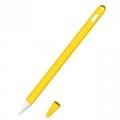 Siliconen huls en puntbeschermer voor Apple Pencil 2 geel