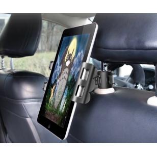 iPad hoofdsteunhouder autostoel