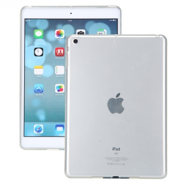 iPad Air 2 siliconen backcover transparant